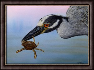Original Watercolor Bird Painting - Wildlife Fine Art