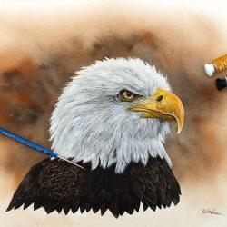 Paint American Birds in Watercolor, PDF Tutorial