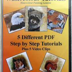 Learn to Paint Animals in Watercolor, PDF Tutorials