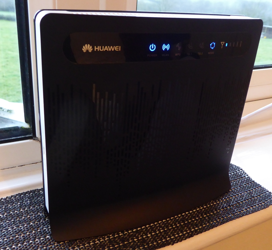 Improved internet with a Huawei router