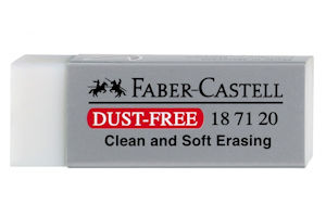 Faber Castell dust free putty eraser for watercolour paintings