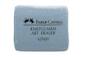Faber Castell putty eraser for watercolour paintings