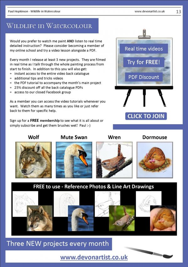 Other downloadable PDF tutorials by Paul Hopkinson
