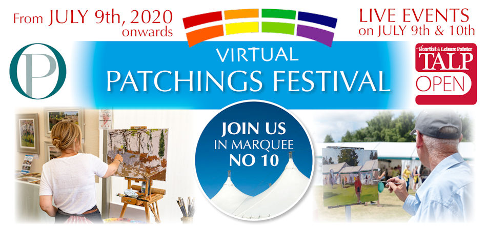 Patchings Virtual Festival 2020 Paul Hopkinson Online Live Tutorials
