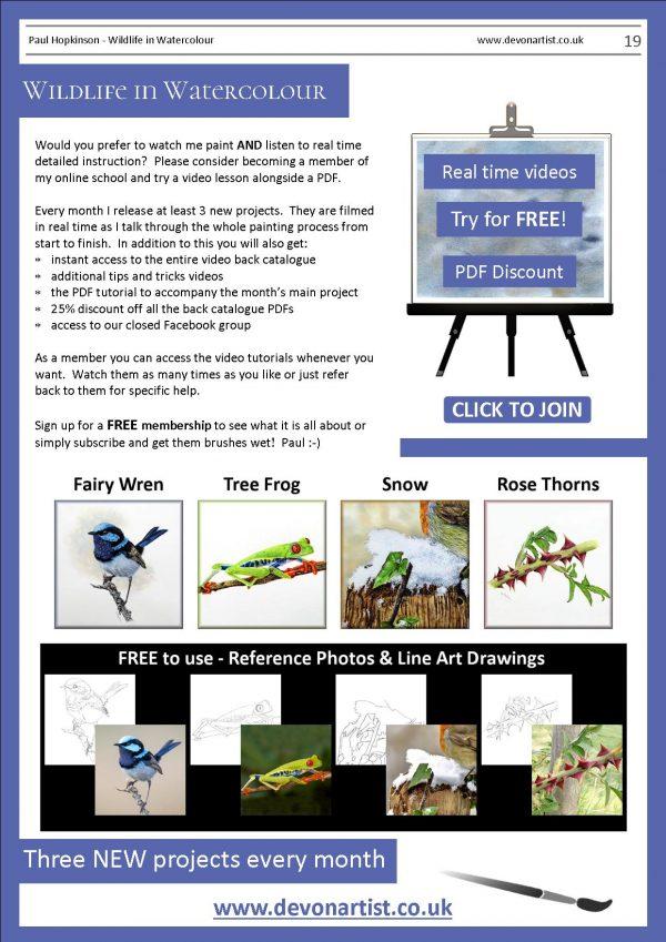 Paul Hopkinson painting lessons online