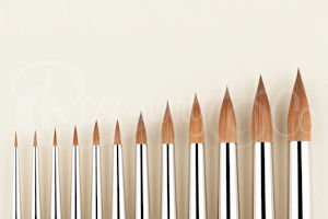 Series 93 pure sable spotter series brush by Rosemary & Co