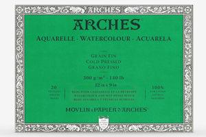 Arches cold pressed watercolour block